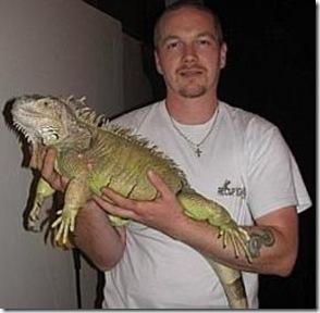 Mickael Wattelé, fondateur de Récup'Iguane vert - Photo : Nord Eclair