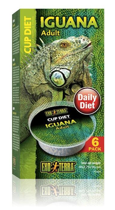 Boîte de nourriture pour iguane Cup Diet d'Exo Terra®