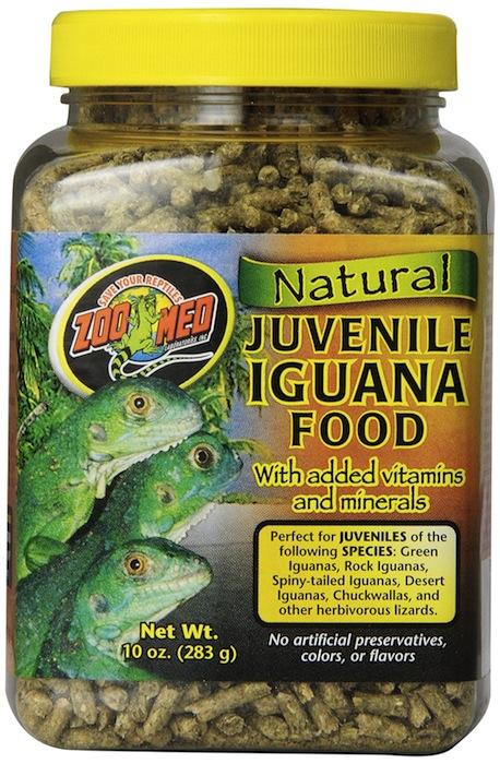 Granulés 100% naturels pour iguanes juvéniles par Zoomed®