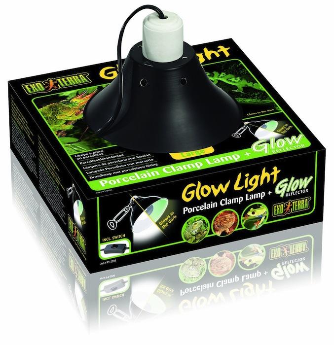 Lampe à pince en porcelaine Glow Light - Exo Terra