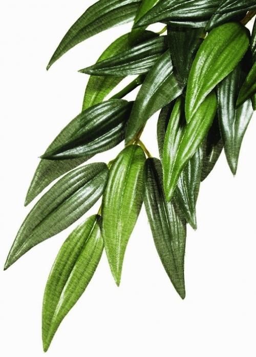 Plante en plastique pour terrarium iguane