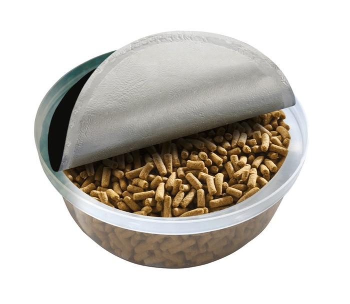 Portion ouverte de Cup Diet pour iguanes juvéniles