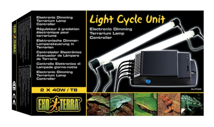 Régulateur électronique d'éclairage par cycle Light Cycle Unit d'Exo Terra