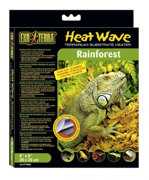 Tapis chauffant pour terrarium tropical - Exo Terra